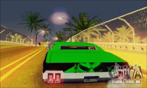 Modified Sabre Low para GTA San Andreas vista direita