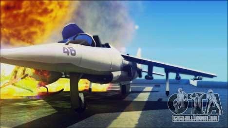 Sonic Unbelievable Shader v7 para GTA San Andreas quinto tela