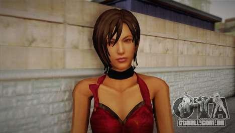Ada Wong para GTA San Andreas terceira tela