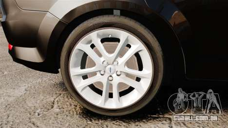 Ford Mondeo Unmarked Police [ELS] para GTA 4 vista de volta