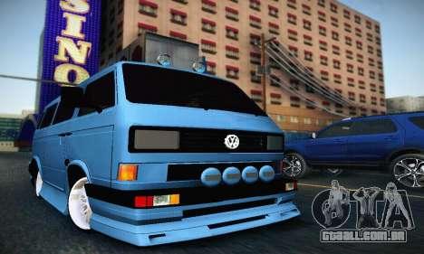 Volkswagen Transporter T2 Tuning para GTA San Andreas