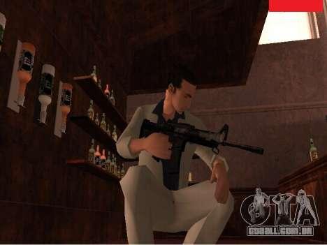 Weapon Pack para GTA San Andreas por diante tela