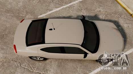 Dodge Charger Unmarked Police [ELS] para GTA 4 vista direita