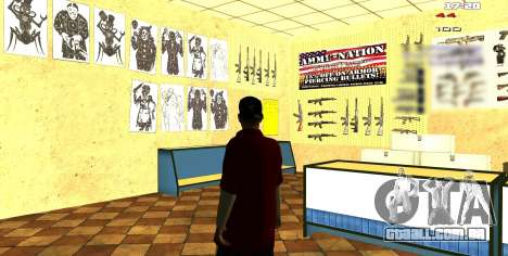 Dois relacionados ao Interior mudar para GTA San Andreas terceira tela