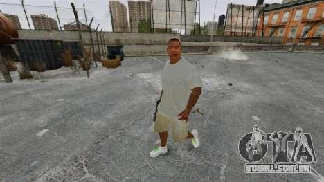 Franklin Clinton v3 para GTA 4 segundo screenshot