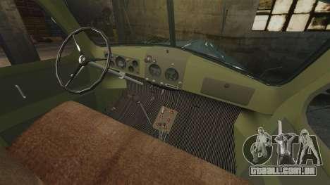 ZIL-157 de perfuração para GTA 4 vista de volta