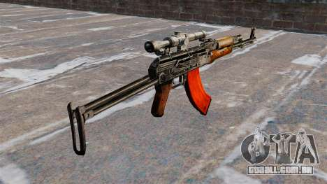 AKMS automático para GTA 4 segundo screenshot