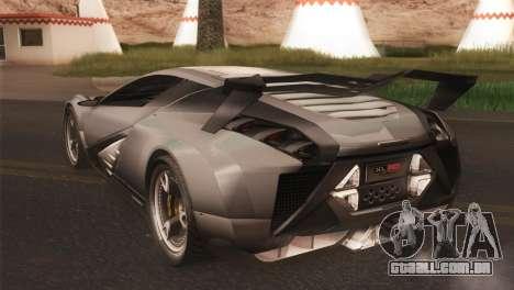 SuperMotoXL CONXERTO v2.0 para GTA San Andreas traseira esquerda vista