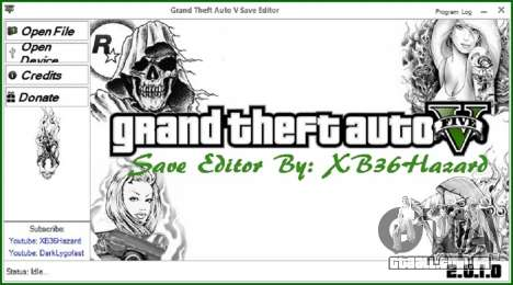 Grand Theft Auto V Save Editor v.2.0.1.0 para GTA 5