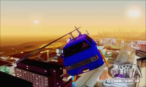 Fun Maverick para GTA San Andreas vista traseira