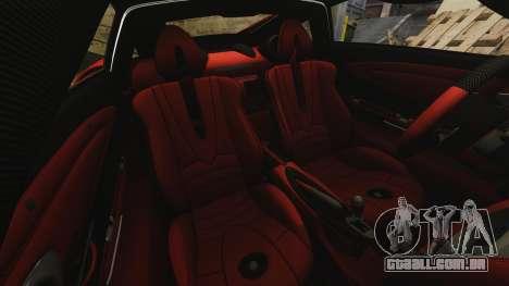 Pagani Huyara [EPM] para GTA 4 vista inferior