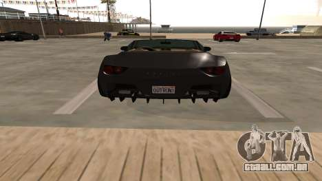 Carbonizzare de GTA 5 para GTA San Andreas vista interior