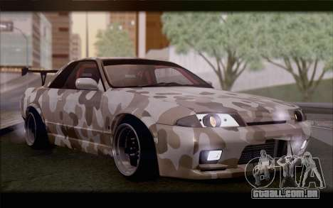 Nissan Skyline GTS Drift Spec para GTA San Andreas