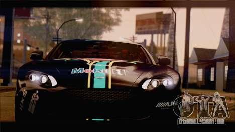 Aston Martin V12 Zagato 2012 [HQLM] para GTA San Andreas vista interior