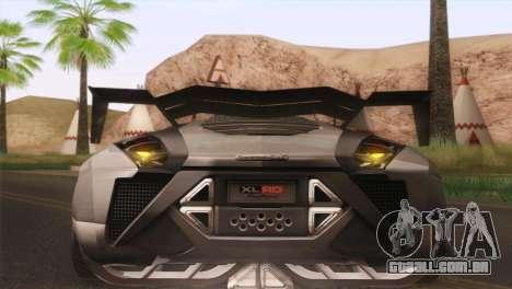 SuperMotoXL CONXERTO v2.0 para GTA San Andreas vista interior