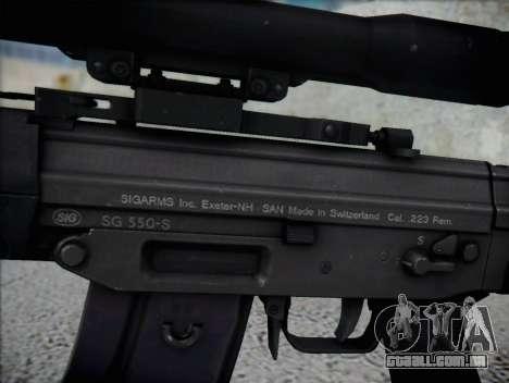Rifle Sniper HD para GTA San Andreas terceira tela