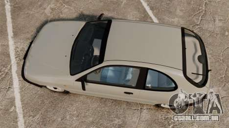 Daewoo Lanos S PL 1997 para GTA 4 vista direita