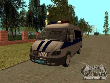 GÁS polícia Sable para GTA San Andreas