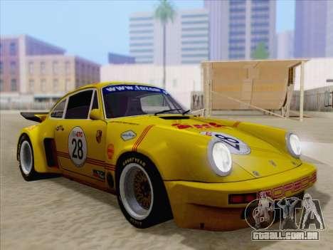 Porsche 911 RSR 3.3 skinpack 1 para as rodas de GTA San Andreas
