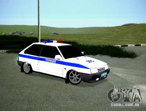 DPS VAZ 2108 para GTA San Andreas vista direita