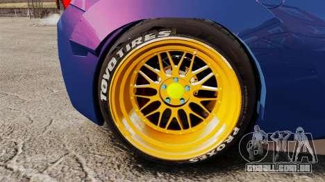 Ferrari 458 Italia Liberty Walk para GTA 4 vista de volta