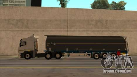 Tanque SMAT para GTA San Andreas traseira esquerda vista