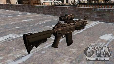 O fuzil SIG 552 para GTA 4 segundo screenshot