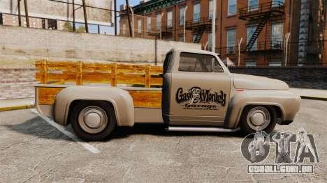 Hot Rod Truck Gas Monkey v2.0 para GTA 4 esquerda vista