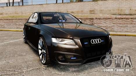 Audi S4 Unmarked Police [ELS] para GTA 4