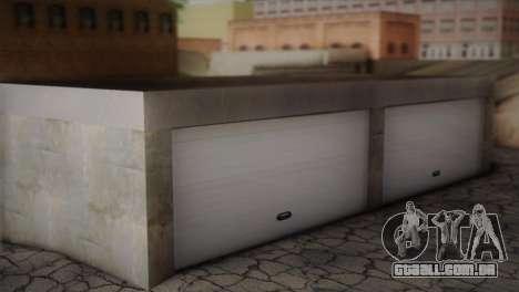 Garagem em Dorothy para GTA San Andreas segunda tela