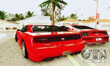 Búfalo de GTA V para GTA San Andreas traseira esquerda vista