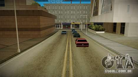 GTA HD Mod 3.0 para GTA San Andreas terceira tela