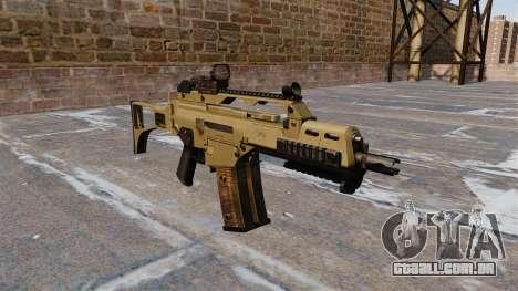 Tactical rifle de assalto HK G36C para GTA 4