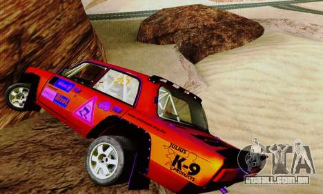 Lada 2105 VFTS para GTA San Andreas vista interior