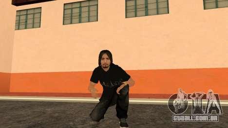 Pele de alta qualidade pessoal para GTA San Andreas sétima tela