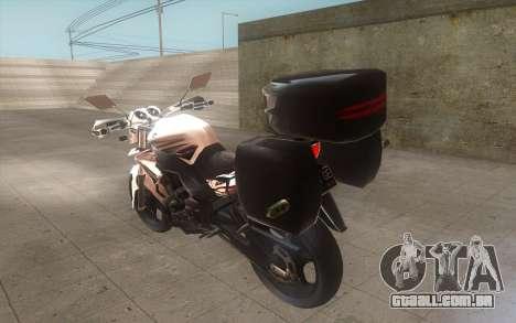 Yamaha V-ixion 150cc 2012 Touring Edition para GTA San Andreas esquerda vista