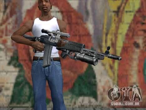 AK-47 de um Stalker para GTA San Andreas terceira tela
