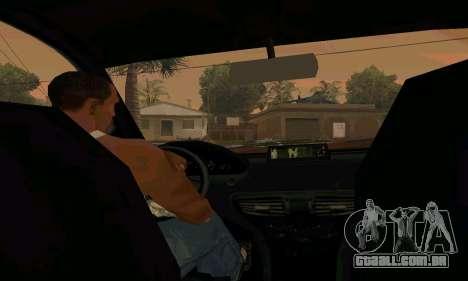 Presidente do GTA IV para GTA San Andreas vista direita