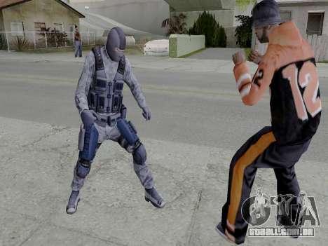 Cell para GTA San Andreas por diante tela