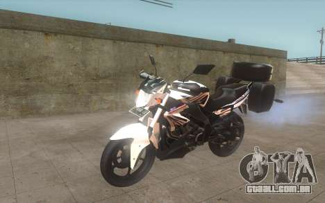 Yamaha V-ixion 150cc 2012 Touring Edition para GTA San Andreas