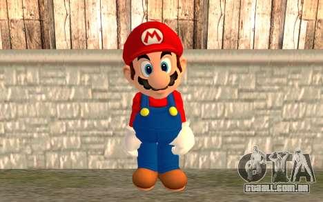 Mario para GTA San Andreas