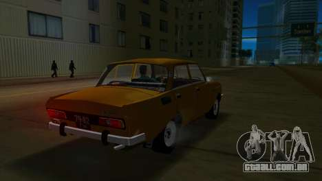 AZLK 2140 para GTA Vice City deixou vista