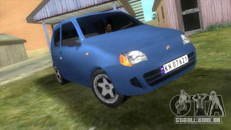 Fiat Seicento para GTA Vice City