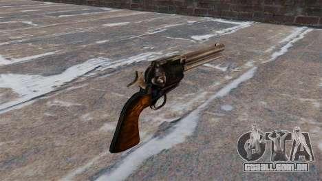 Revólver Colt Peacemaker para GTA 4 segundo screenshot