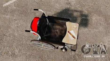 Funny Wheelchair para GTA 4 vista direita