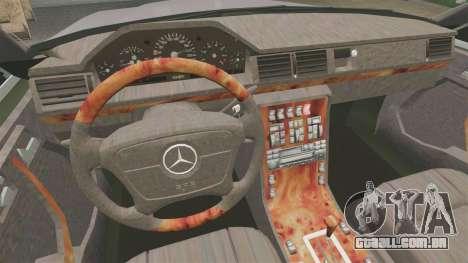 Mercedes-Benz S600 W140 para GTA 4 vista de volta