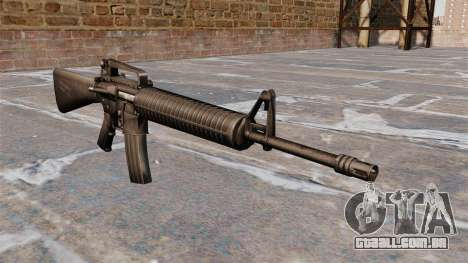 Semi-automático rifle AR-15 Armlite para GTA 4