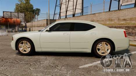 Dodge Charger RT Hemi 2007 para GTA 4 esquerda vista