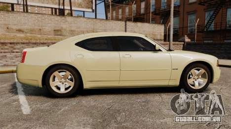 Dodge Charger RT Hemi 2007 para GTA 4 esquerda vista
