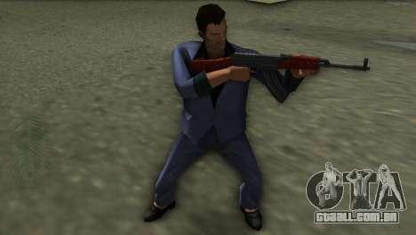 Vz-58 para GTA Vice City por diante tela